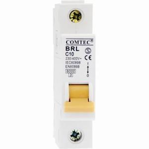 Intrerupator automat monopolar BRL 6kA MCB t