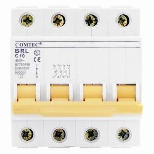 Intrerupator automat tetrapolar BRL 6kA MCB t