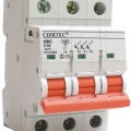 Intrerupator automat tripolar HBC 10kA MCB full