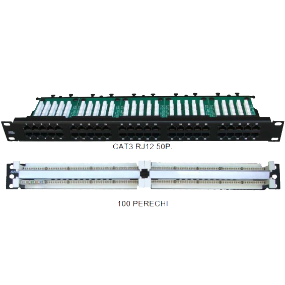 Patch panel-uri telefonice COMTEC