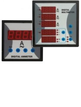 Ampermetre si voltmetre digitale