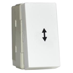 Intrerupator Cap Scara Premium alb aparataj de camera Comtec