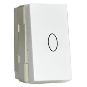Intrerupator cu revenire STIL premium alb aparataj de camera Comtec