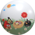 Plafoniare LED angry birds