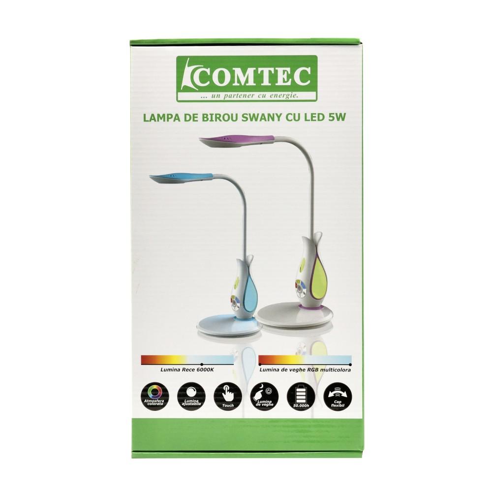 Lampa De Birou Swany Cu Led 5w Comtec 2000 Inc