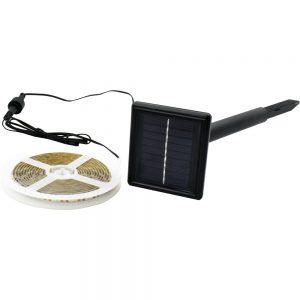 Banda LED 3m cu Panou Solar