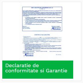 Declaratie de conformitate si Garantie
