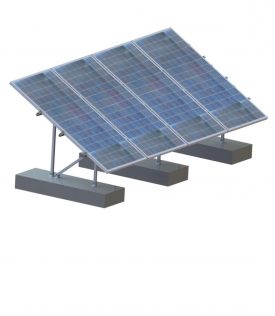 Set sisteme prindere panouri fotovoltaice